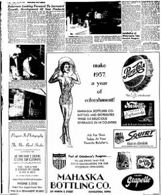 Oskaloosa Daily Herald from Oskaloosa, Iowa on January 30, 1957 · Page 66