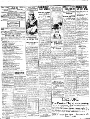 The Gettysburg Times from Gettysburg, Pennsylvania on October 8, 1913 · Page 4