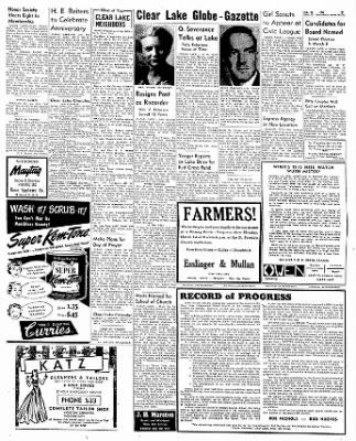 The Mason City Globe-Gazette from Mason City, Iowa on February 26, 1954 · Page 7