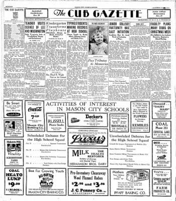 The Mason City Globe-Gazette from Mason City, Iowa on December 23, 1933 · Page 16