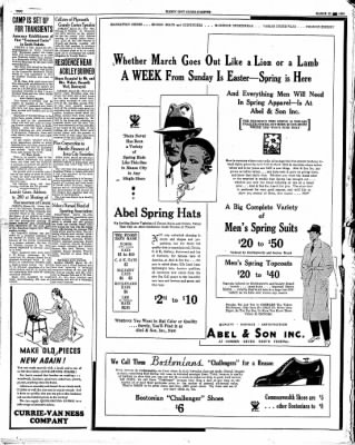The Mason City Globe-Gazette from Mason City, Iowa on March 23, 1934 · Page 2