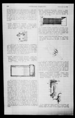 Official Gazette of the United States Patent Office from Washington, District of Columbia on February 12, 1924 · Page 195