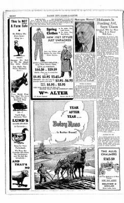 The Mason City Globe-Gazette from Mason City, Iowa on March 3, 1937 · Page 22