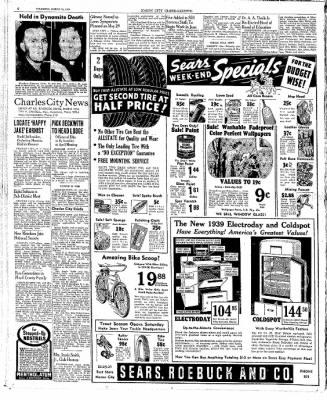 The Mason City Globe-Gazette from Mason City, Iowa on March 23, 1939 · Page 6