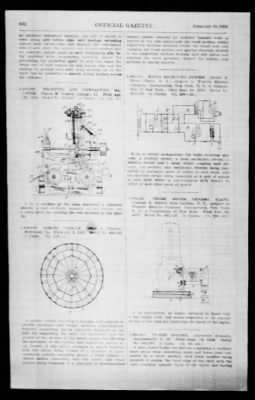Official Gazette of the United States Patent Office from Washington, District of Columbia on February 19, 1924 · Page 192