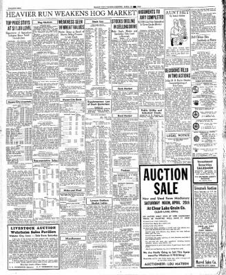 The Mason City Globe-Gazette from Mason City, Iowa on April 23, 1936 · Page 22