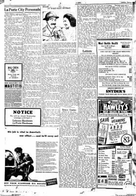 Progress-Review from La Porte City, Iowa on January 7, 1943 · Page 3