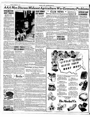 The Mason City Globe-Gazette from Mason City, Iowa on February 2, 1943 · Page 8