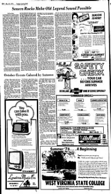 Sunday Gazette-Mail from Charleston, West Virginia on May 23, 1976 · Page 89