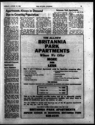 The Ottawa Journal from Ottawa,  on August 18, 1964 · Page 43