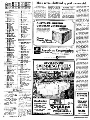 Sunday Gazette-Mail from Charleston, West Virginia on July 30, 1972 · Page 93