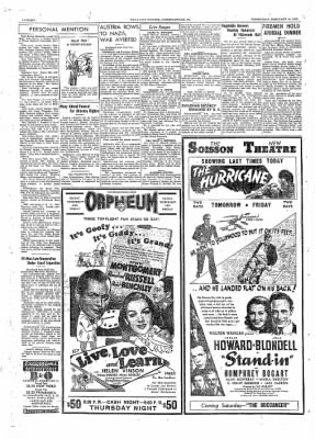 The Daily Courier from Connellsville, Pennsylvania on February 16, 1938 · Page 6