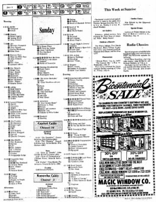 Sunday Gazette-Mail from Charleston, West Virginia on July 11, 1976 · Page 74