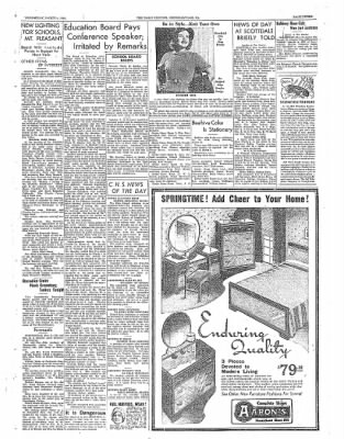The Daily Courier from Connellsville, Pennsylvania on March 9, 1938 · Page 3