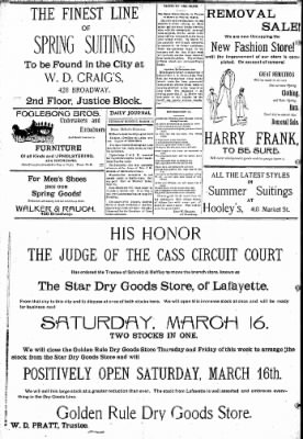 Logansport Pharos-Tribune from Logansport, Indiana on March 14, 1895 · Page 8