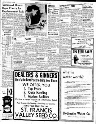 The Courier News from Blytheville, Arkansas on October 27, 1952 · Page 3