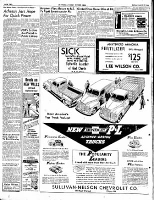 The Courier News from Blytheville, Arkansas on March 17, 1950 · Page 2
