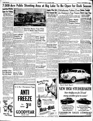The Courier News from Blytheville, Arkansas on November 21, 1950 · Page 12