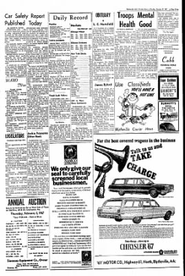 The Courier News from Blytheville, Arkansas on January 31, 1967 · Page 7
