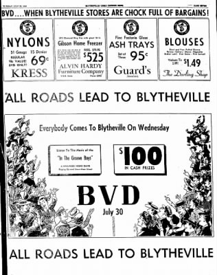 The Courier News from Blytheville, Arkansas on July 29, 1952 · Page 7