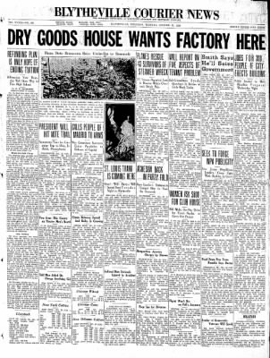 The Courier News from Blytheville, Arkansas on October 20, 1936 · Page 1