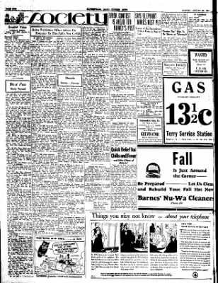 The Courier News from Blytheville, Arkansas on August 20, 1934 · Page 2