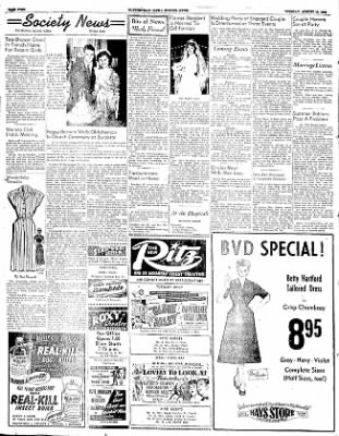 The Courier News from Blytheville, Arkansas on August 12, 1952 · Page 4