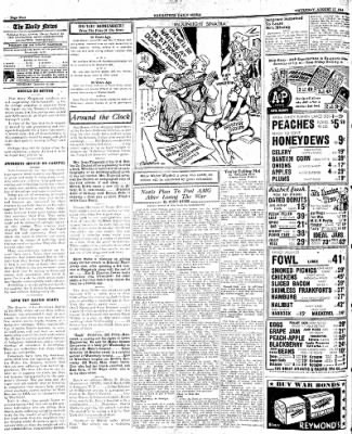 Naugatuck Daily News from Naugatuck, Connecticut on August 17, 1944 · Page 4