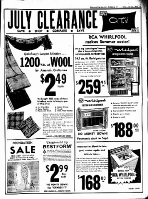 Galesburg Register-Mail from Galesburg, Illinois on July 24, 1963 · Page 9