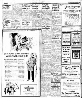 Naugatuck Daily News from Naugatuck, Connecticut on September 7, 1944 · Page 8
