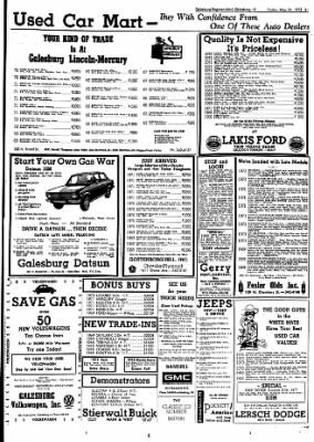 Galesburg Register-Mail from Galesburg, Illinois on May 11, 1973 · Page 31