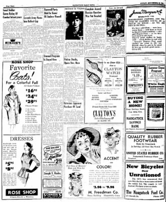 Naugatuck Daily News from Naugatuck, Connecticut on September 29, 1944 · Page 8