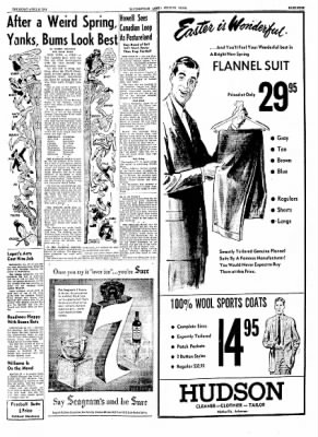 The Courier News from Blytheville, Arkansas on April 8, 1954 · Page 9