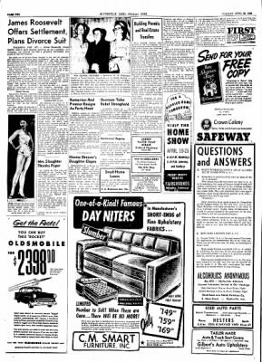 The Courier News from Blytheville, Arkansas on April 20, 1954 · Page 2