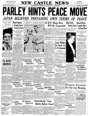 Image result for november 4, 1937 news