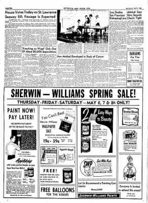 The Courier News from Blytheville, Arkansas on May 6, 1954 · Page 2
