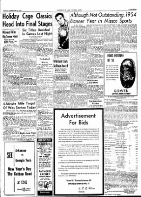 The Courier News from Blytheville, Arkansas on December 31, 1954 · Page 7