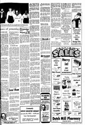 The Sioux County Capital from Orange City, Iowa on January 13, 1972 · Page 9