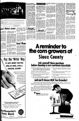 The Sioux County Capital from Orange City, Iowa on March 9, 1972 · Page 5
