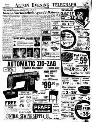 Alton Evening Telegraph from Alton, Illinois on June 20, 1960 · Page 13