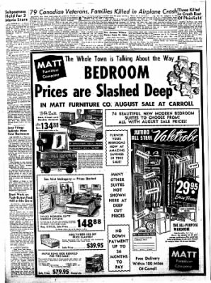 Carrol Daily Times Herald from Carroll, Iowa on August 12, 1957 · Page 8