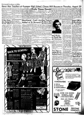 Carrol Daily Times Herald from Carroll, Iowa on August 14, 1957 · Page 12