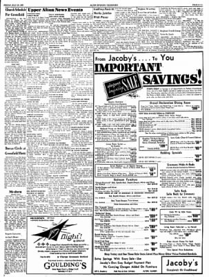 Alton Evening Telegraph from Alton, Illinois on July 29, 1960 · Page 9