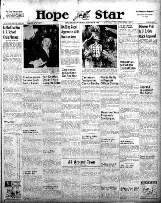 Hope Star from Hope, Arkansas on December 18, 1958 · Page 1
