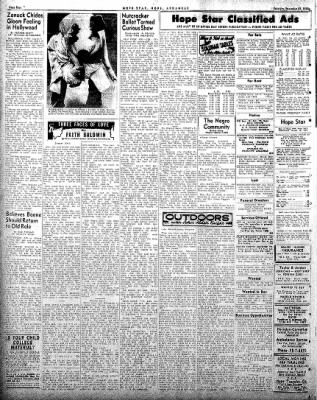 Hope Star from Hope, Arkansas on December 27, 1958 · Page 4