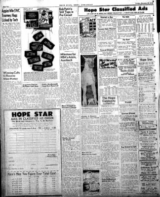 Hope Star from Hope, Arkansas on December 30, 1958 · Page 6