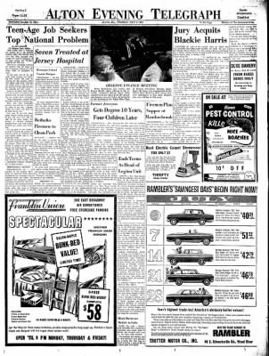 Alton Evening Telegraph from Alton, Illinois on July 9, 1963 · Page 11
