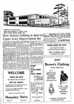 Fayette County Leader from Fayette, Iowa on September 13, 1961 · Page 14