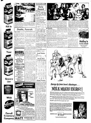 Carrol Daily Times Herald from Carroll, Iowa on September 23, 1959 · Page 12