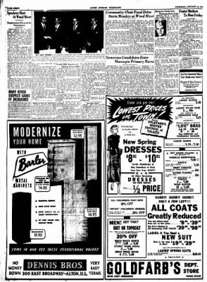 Alton Evening Telegraph from Alton, Illinois on January 12, 1950 · Page 8